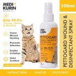 MEDI+KURIN HOCl PettoGard For Cats 100ml