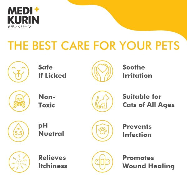 MEDI+KURIN HOCl PettoGard The Best Care For Cats