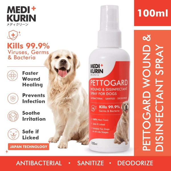 MEDI+KURIN HOCl PettoGard For Dogs 100ml