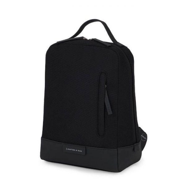Kapten & Son Lillestrom Backpack - All Black