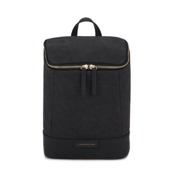 Kapten & Son Lohja Backpack - All Black